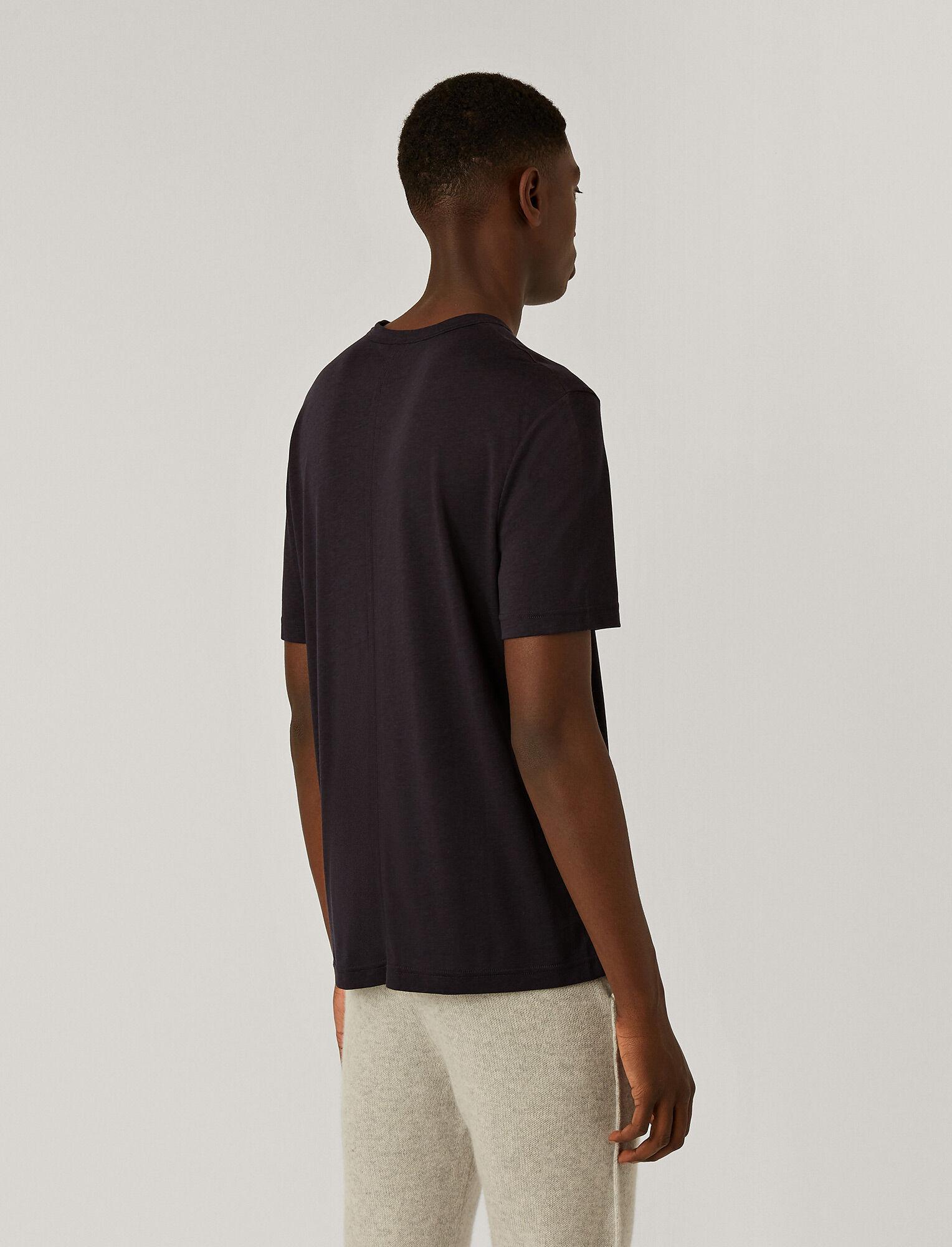 Joseph, Tee-shirt en jersey de lyocell, in NAVY
