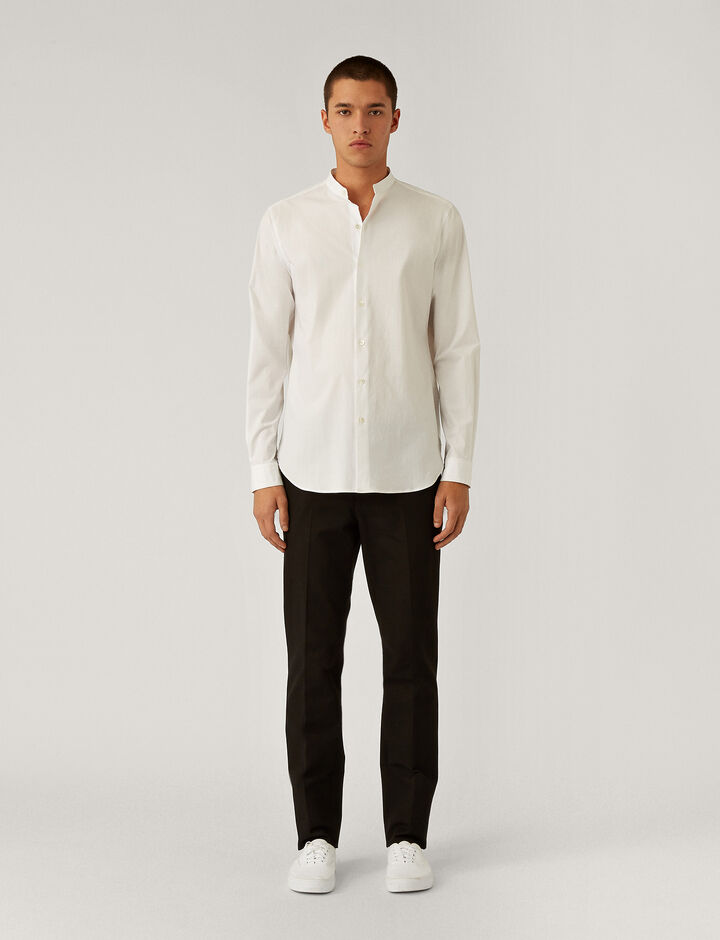Joseph, Poplin Stretch Shirt Shirts, in White