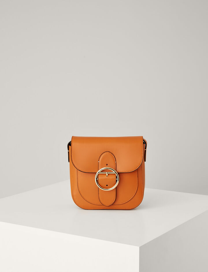 Joseph, Leather Knight 25 Bag, in ORANGE