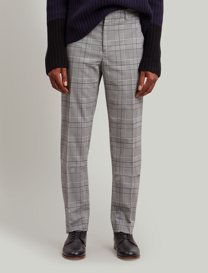 Joseph, Jack Galles Techno Stretch Trousers, in CHARCOAL