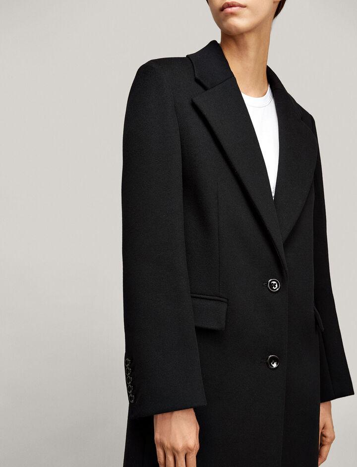 Joseph, Magnus Tailored Coat, in BLACK