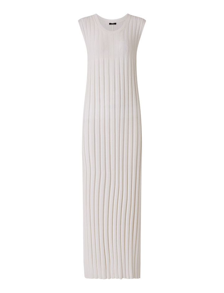 Joseph, Dress-Textured Rib, in OFF WHITE