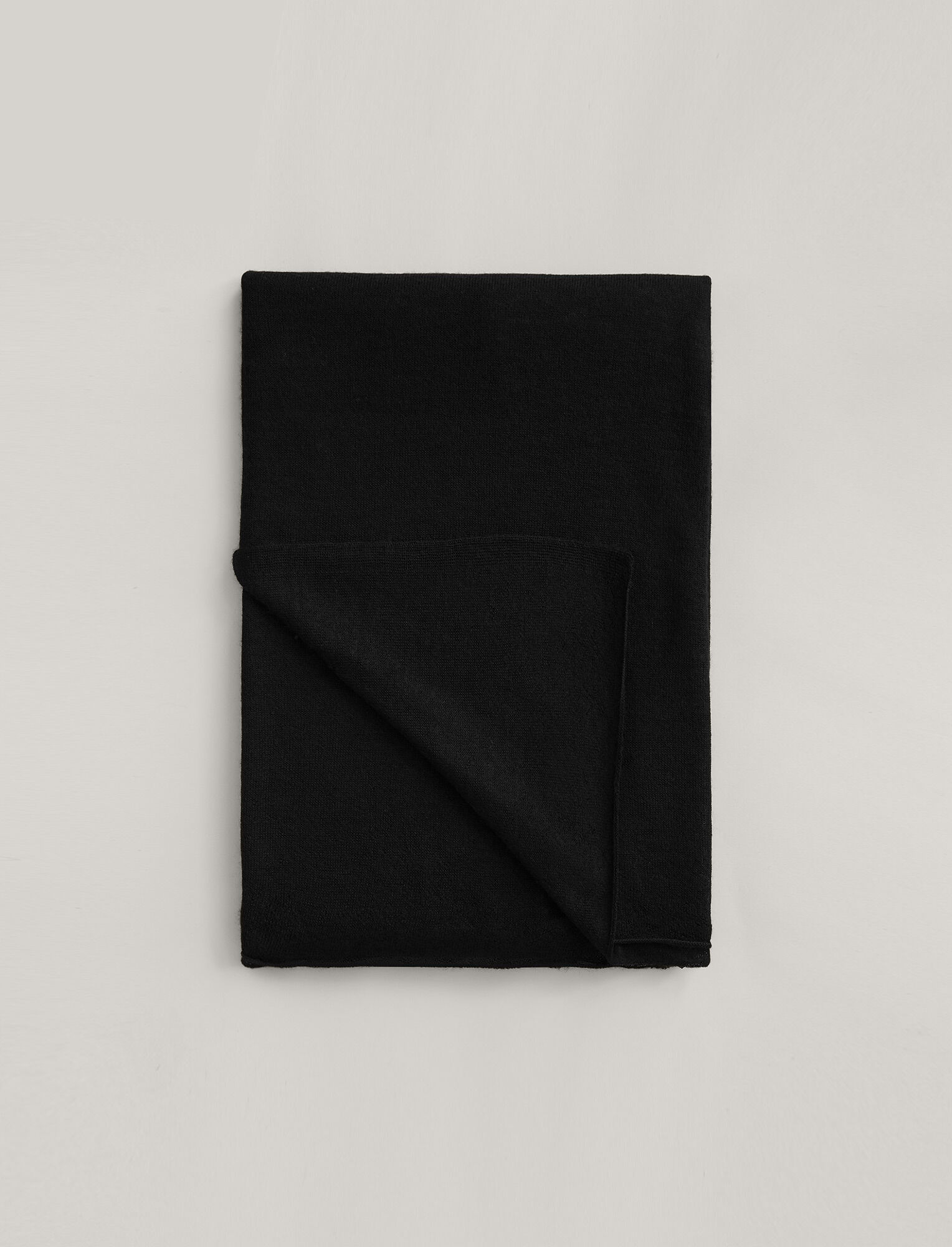 Joseph, Large Cashair Scarf, in BLACK
