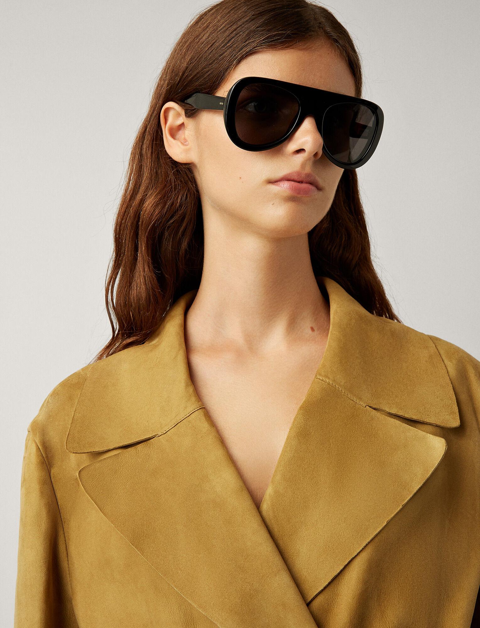 Joseph, Chelsea Sunglasses, in BLACK