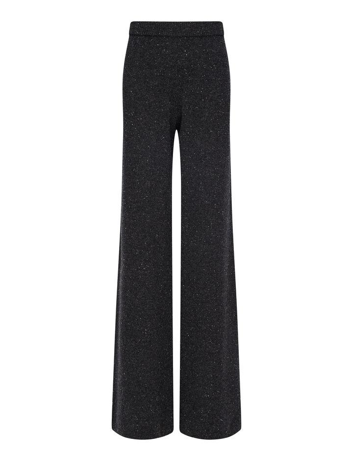 Joseph, Tweed Knit Trousers, in IRON