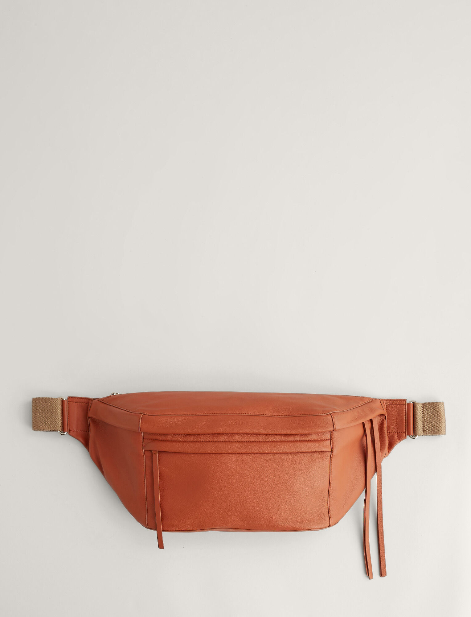 Joseph, Harley Leather Bag, in RUST