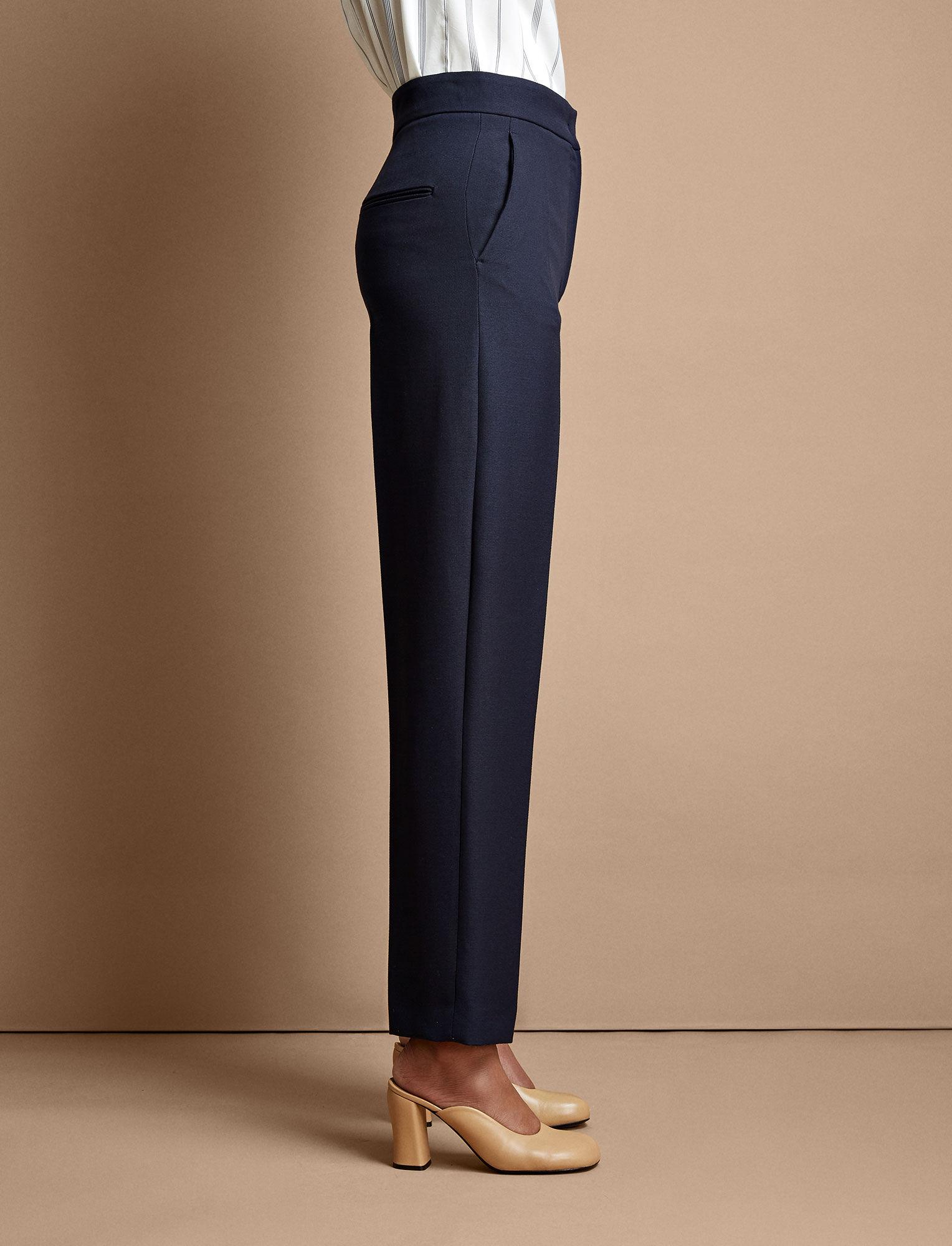 Joseph, Haim Tailoring Canvas Trousers, in NAVY