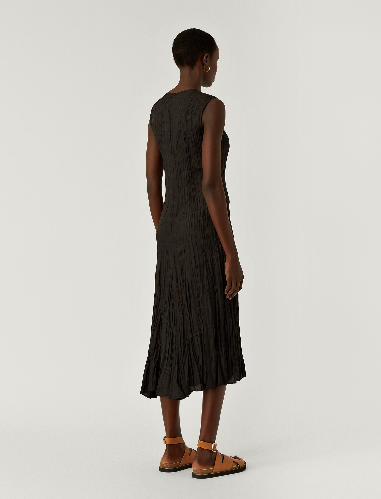 Joseph, Habotai Desvignes Dress, in BLACK