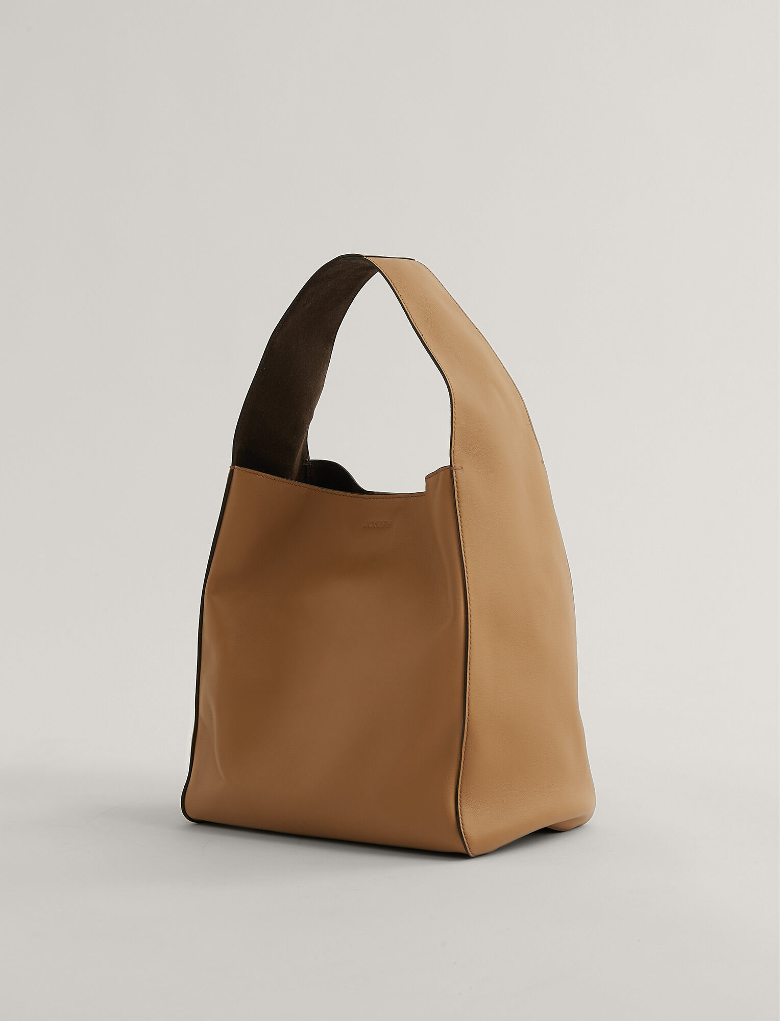 Joseph, Slouch S Bag, in Saddle