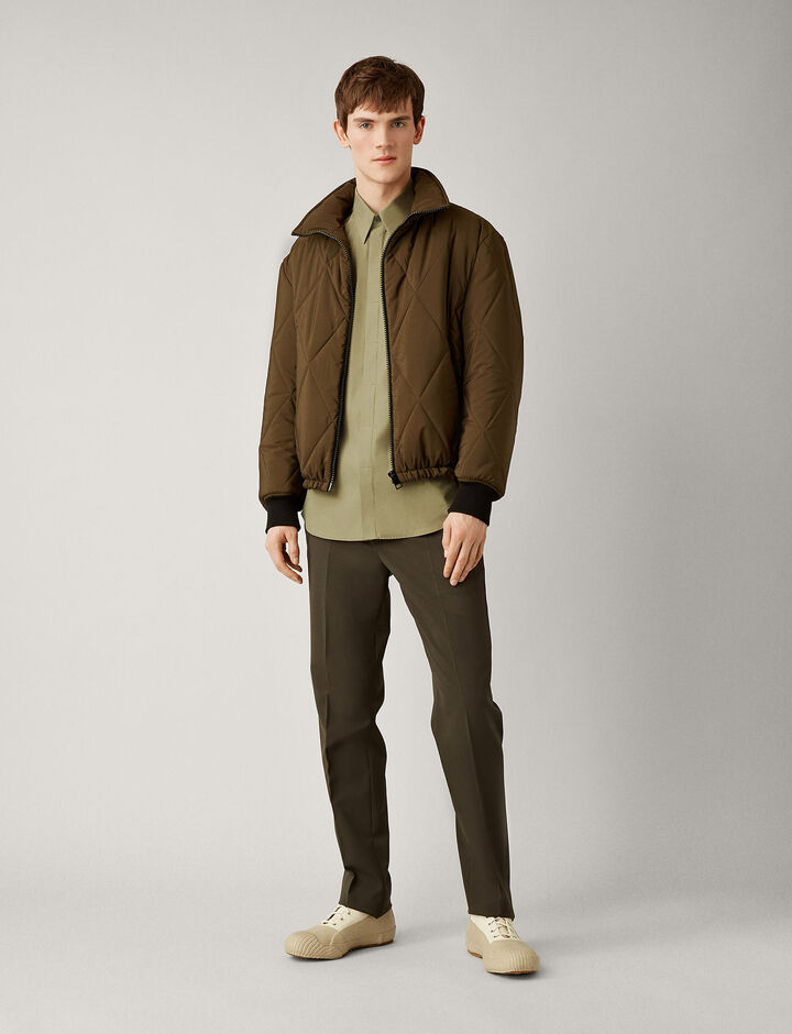 Joseph, James Poplin Shirt, in MILITARY