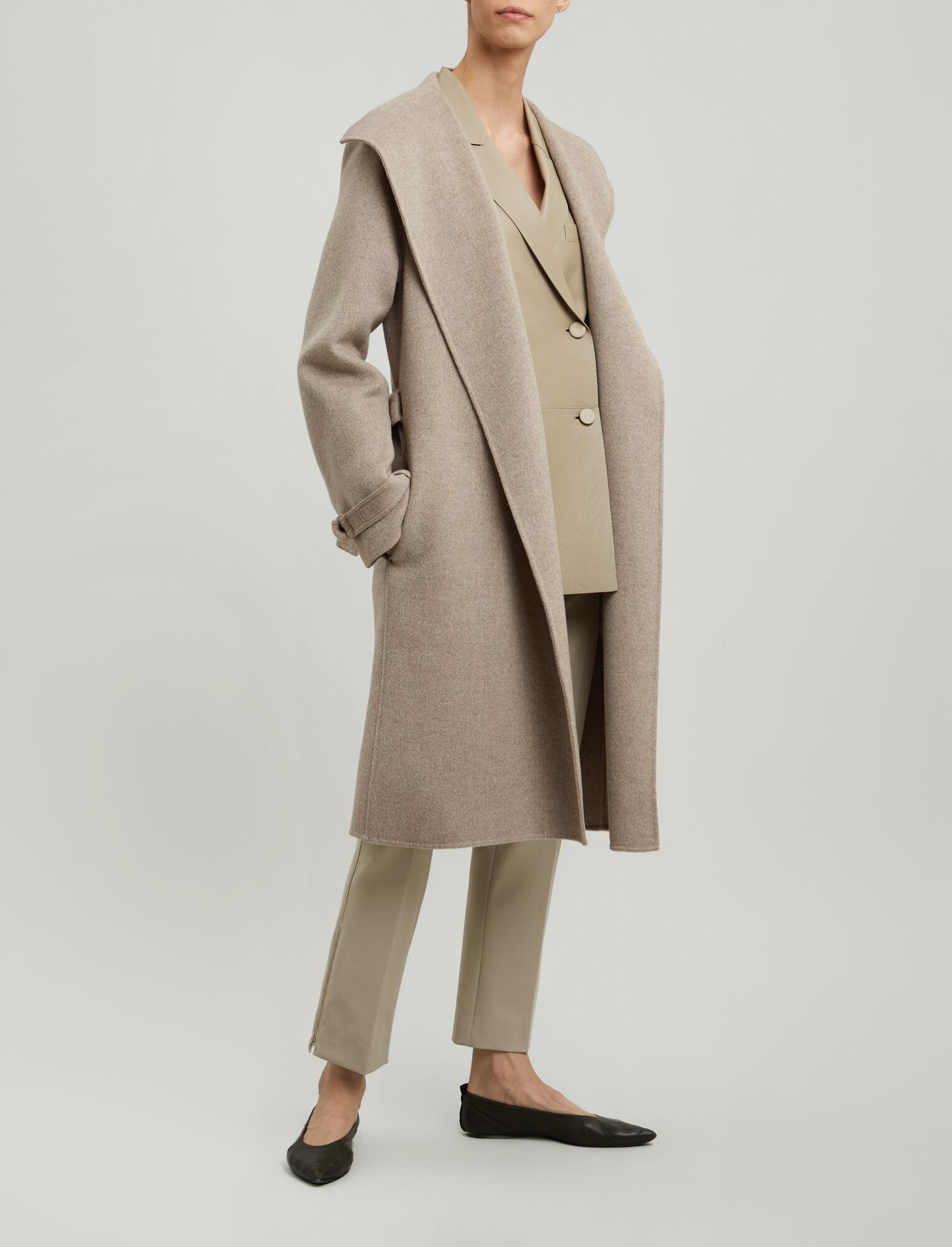 b74b13da90 New Lima Double Cashmere Coat in Grey