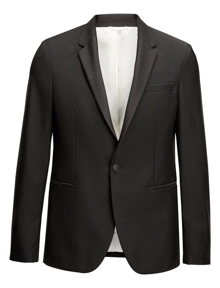 Joseph, Clement Wool Mohair Jacket, in BLACK